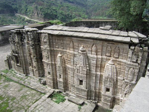 Temple Inside Kangra Fort